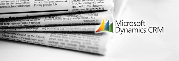 Microsoft Dynamics CRM, média